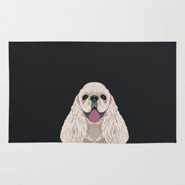 Harper - Cocker Spaniel phone case gifts for dog people dog lovers presents Rug