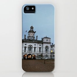 Whitehall London at Dusk iPhone Case