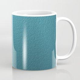 tourquise painted wall Coffee Mug