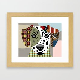 Dalmatian Dog Framed Art Print