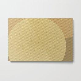 Geometry Circle N.2 Metal Print