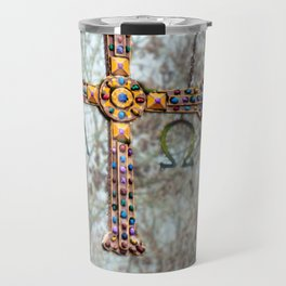 Asturias Christ's cross Travel Mug