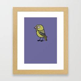 Greenfinch Framed Art Print