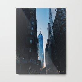 Fulton Street Metal Print