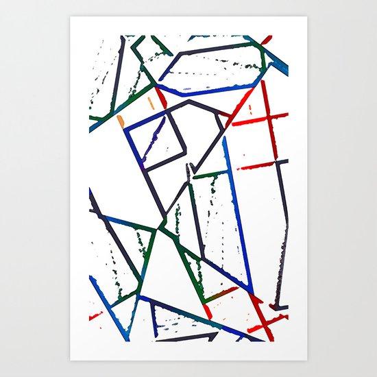 Altered Art Print