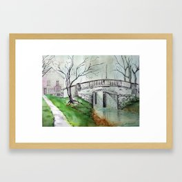 Bridge in Irland Framed Art Print