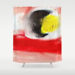 Abstract art. A painting for Tomie Ohtake Shower Curtain