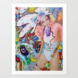 Mae Heffiman Art Print
