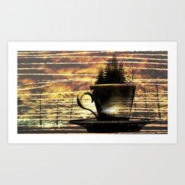 Cup of Tree Art Print