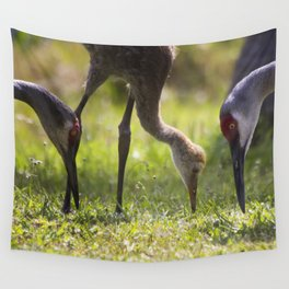 Family Feast Wall Tapestry