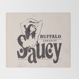 SAUCY Throw Blanket