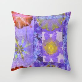 Cranioclasty Nightmare Flowers  ID:16165-060316-03481 Throw Pillow