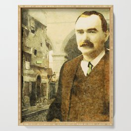 James Connolly (1868-1916) at Cowgate Serving Tray