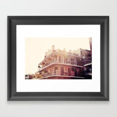 NOLA Sunlight Framed Art Print