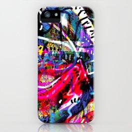 Caramel Yoga (abstract art) iPhone Case