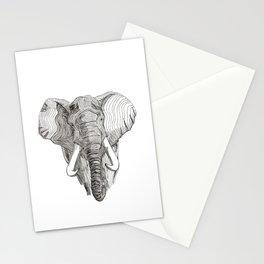 Loxodonta Africana Stationery Cards