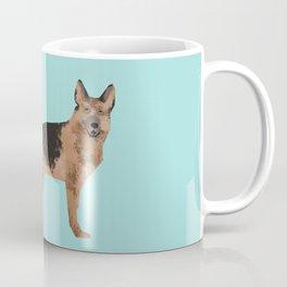 german shepherd funny farting dog breed gifts Coffee Mug