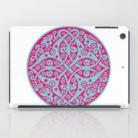 persian iPad Cases featuring Persian circle by Osgarr