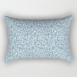Wild Succory Meadow Rectangular Pillow