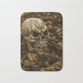 Halloween Skull 2 Bath Mat