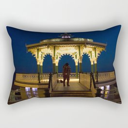 Brighton Bandstand at Night Rectangular Pillow