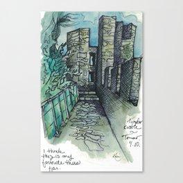 Camino Portugués - Tomar Canvas Print