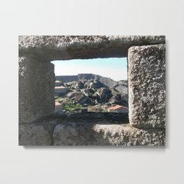 A view from the castle Metal Print