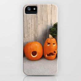 halloween friends iPhone Case