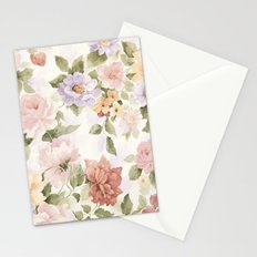 VINTAGE FLOWERS XXV - for iphone Stationery Cards