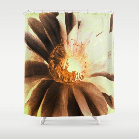 Kaktus Flower Shower Curtain