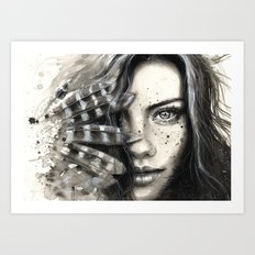 Freckly Art Print