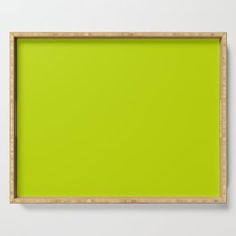 Simply Lime Punch pantone Serving Tray