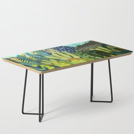 Wild Jungle    #illustration #painting Coffee Table