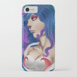 Lung cancer superhero iPhone Case
