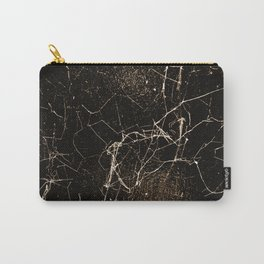Spider Web Print Grunge Dark Texture Carry-All Pouch