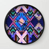 tarot Wall Clocks featuring Tarot 1A by Schatzi Brown