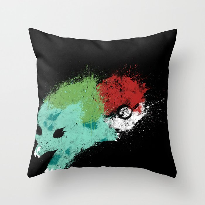 Grass Starter Throw Pillow