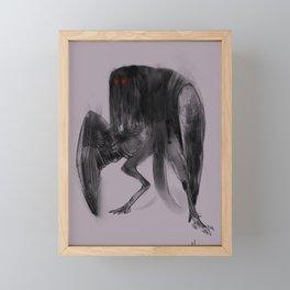 mothman Framed Mini Art Print