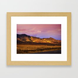 Photon Landslide Framed Art Print