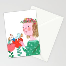 Flower Gentle Kiss Stationery Cards