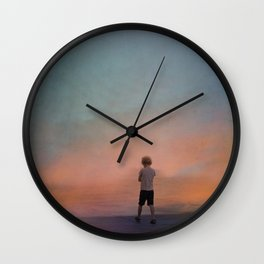 A world of illusions Wall Clock