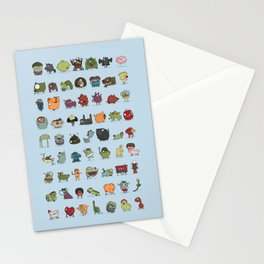 The creatures dictionary Stationery Cards