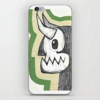 hero iPhone & iPod Skins featuring HERo by Elvis Vazquez