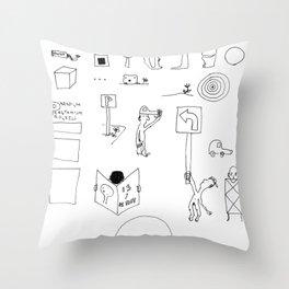 Paradigm Process Throw Pillow