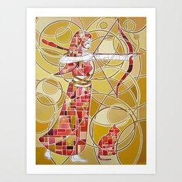 Pop Artemis Art Print