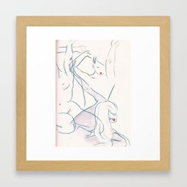 Nude Figures Framed Art Print