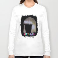 sia Long Sleeve T-shirts featuring SIA by Melina Espinoza