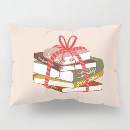 Jane Austen Book Pile Pillow Sham