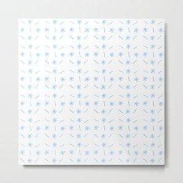 stars 38 - blue Metal Print