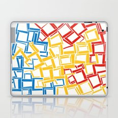 rectangles in primary colours Laptop & iPad Skin